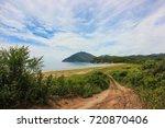 sea scape. zarya bay  lazovsky... | Shutterstock . vector #720870406