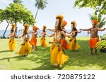papeete  french polynesia  ... | Shutterstock . vector #720875122