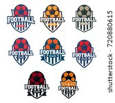 football logo template | Shutterstock .eps vector #720880615