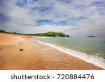 sea scape. zarya bay  lazovsky... | Shutterstock . vector #720884476