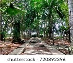 scenery of public natural... | Shutterstock . vector #720892396