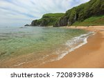 sea scape. zarya bay  lazovsky... | Shutterstock . vector #720893986