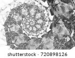 abstract fractal patterns and... | Shutterstock . vector #720898126