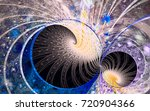 abstract fractal patterns and... | Shutterstock . vector #720904366