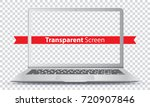 laptop vector illustration with ... | Shutterstock .eps vector #720907846