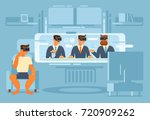 the use of a virtual reality... | Shutterstock .eps vector #720909262