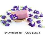 natural handmade soap of pea... | Shutterstock . vector #720916516