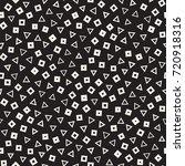 seamless primitive jumble... | Shutterstock .eps vector #720918316