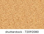seamless detailed cork board texture - stock photo