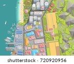 vector illustration. cityscape... | Shutterstock .eps vector #720920956