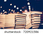 education and study as concept  ... | Shutterstock . vector #720921586