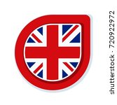 uk of great britain button... | Shutterstock .eps vector #720922972