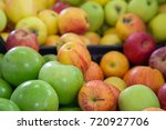 Apples Of Various Colours In A...