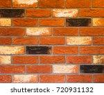 texture of natural brick.... | Shutterstock . vector #720931132