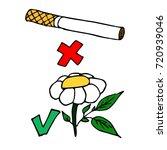 day of refusal of smoking.... | Shutterstock .eps vector #720939046