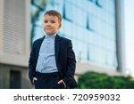concept future businessman ... | Shutterstock . vector #720959032