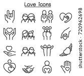 love  relationship  friend ... | Shutterstock .eps vector #720962698