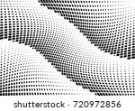 abstract halftone wave dotted... | Shutterstock .eps vector #720972856