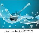 abstract guitar | Shutterstock .eps vector #7209829