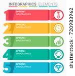 infographics element abstract... | Shutterstock .eps vector #720983962