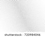 abstract halftone wave dotted... | Shutterstock .eps vector #720984046