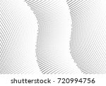 abstract halftone wave dotted... | Shutterstock .eps vector #720994756