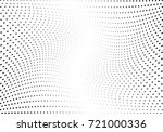 abstract halftone wave dotted... | Shutterstock .eps vector #721000336