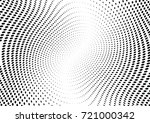 abstract halftone wave dotted... | Shutterstock .eps vector #721000342