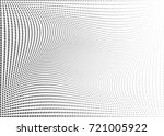 abstract halftone wave dotted... | Shutterstock .eps vector #721005922