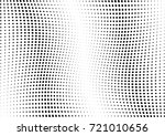 abstract halftone wave dotted... | Shutterstock .eps vector #721010656
