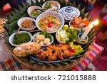 Khantoke Dinner Set  The...