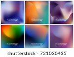 abstract creative concept... | Shutterstock .eps vector #721030435