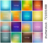 abstract creative concept... | Shutterstock .eps vector #721031488