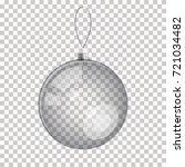 vector realistic glass... | Shutterstock .eps vector #721034482