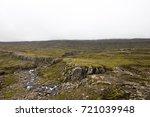 Rocky Plateau On The High...