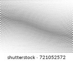 abstract halftone wave dotted... | Shutterstock .eps vector #721052572