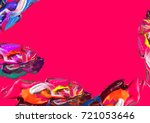 colorful artistic background ...   Shutterstock . vector #721053646