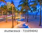ft. lauderdale  florida  usa on ... | Shutterstock . vector #721054042