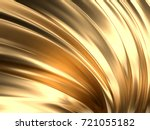 gold wave abstract background... | Shutterstock . vector #721055182