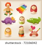 toys   Shutterstock .eps vector #72106042