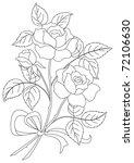 flowers  rose bouquet  love... | Shutterstock . vector #72106630