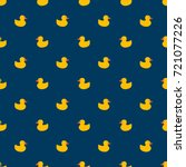 pattern ducks | Shutterstock .eps vector #721077226