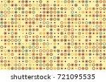 geometric pattern design  | Shutterstock .eps vector #721095535