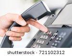 communication support  call... | Shutterstock . vector #721102312