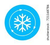 air conditioner vector icon... | Shutterstock .eps vector #721168786