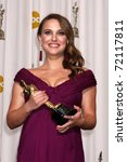 Small photo of LOS ANGELES - 27: Natalie Portman in the Press Room at the 83rd Academy Awards at Kodak Theater, Hollywood & Highland on February 27, 2011 in Los Angeles, CA