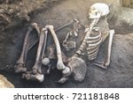 archaeological excavations and... | Shutterstock . vector #721181848