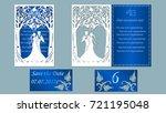 vector illustration postcard.... | Shutterstock .eps vector #721195048