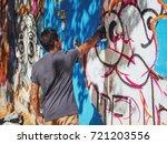 creative art   teenage boy...   Shutterstock . vector #721203556