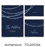 vector string lights | Shutterstock .eps vector #721205266